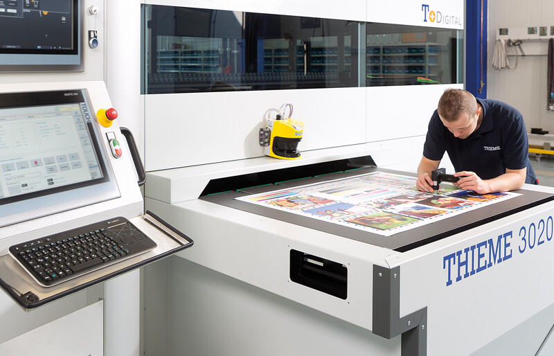 Digital printing in appclication