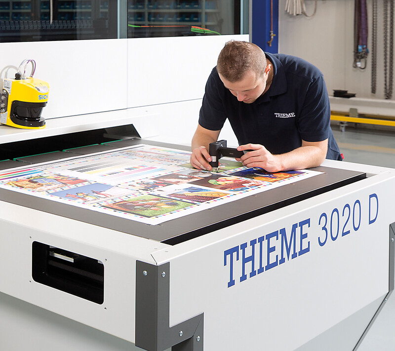 Why digital printing machines from Thieme